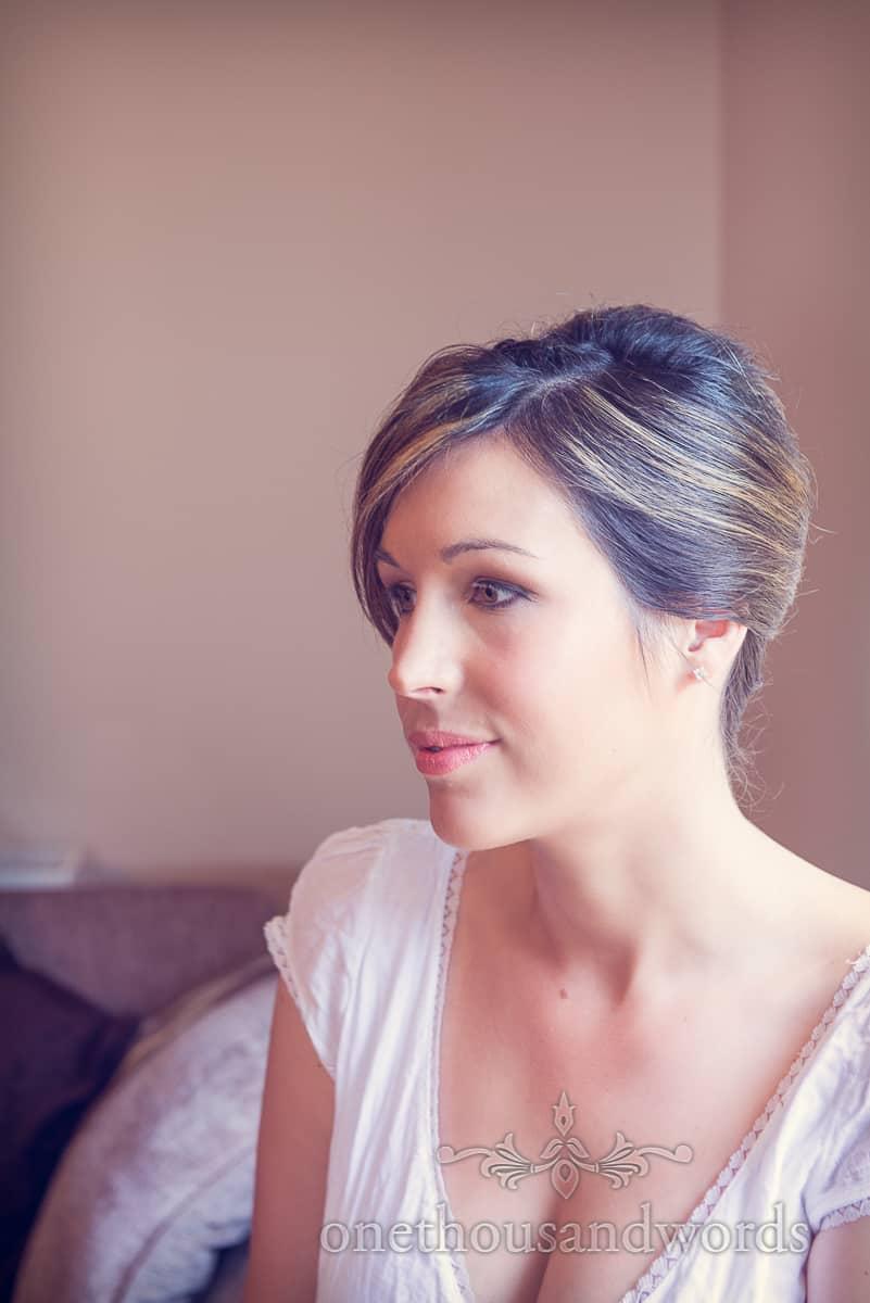 Wedding makeup bridesmaid photograph