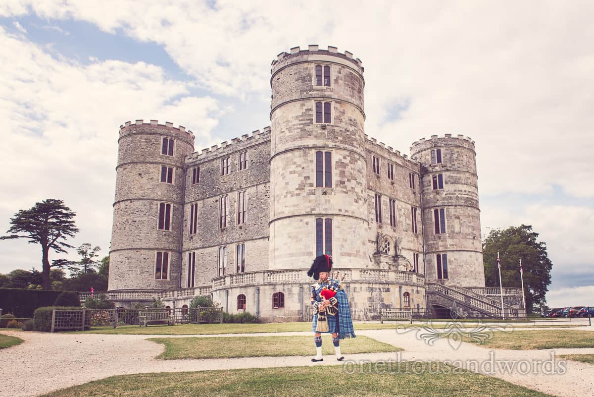 Lulworth Castle Documentary Wedding Photographs in Dorset