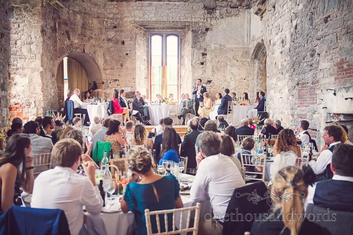 Lulworth Castle Wedding Speeches