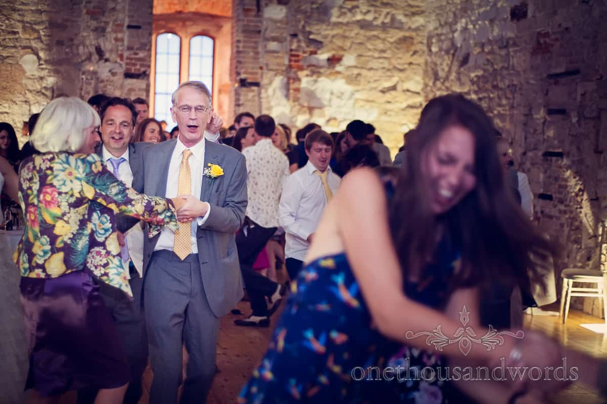 Lulworth castle wedding evening dancing