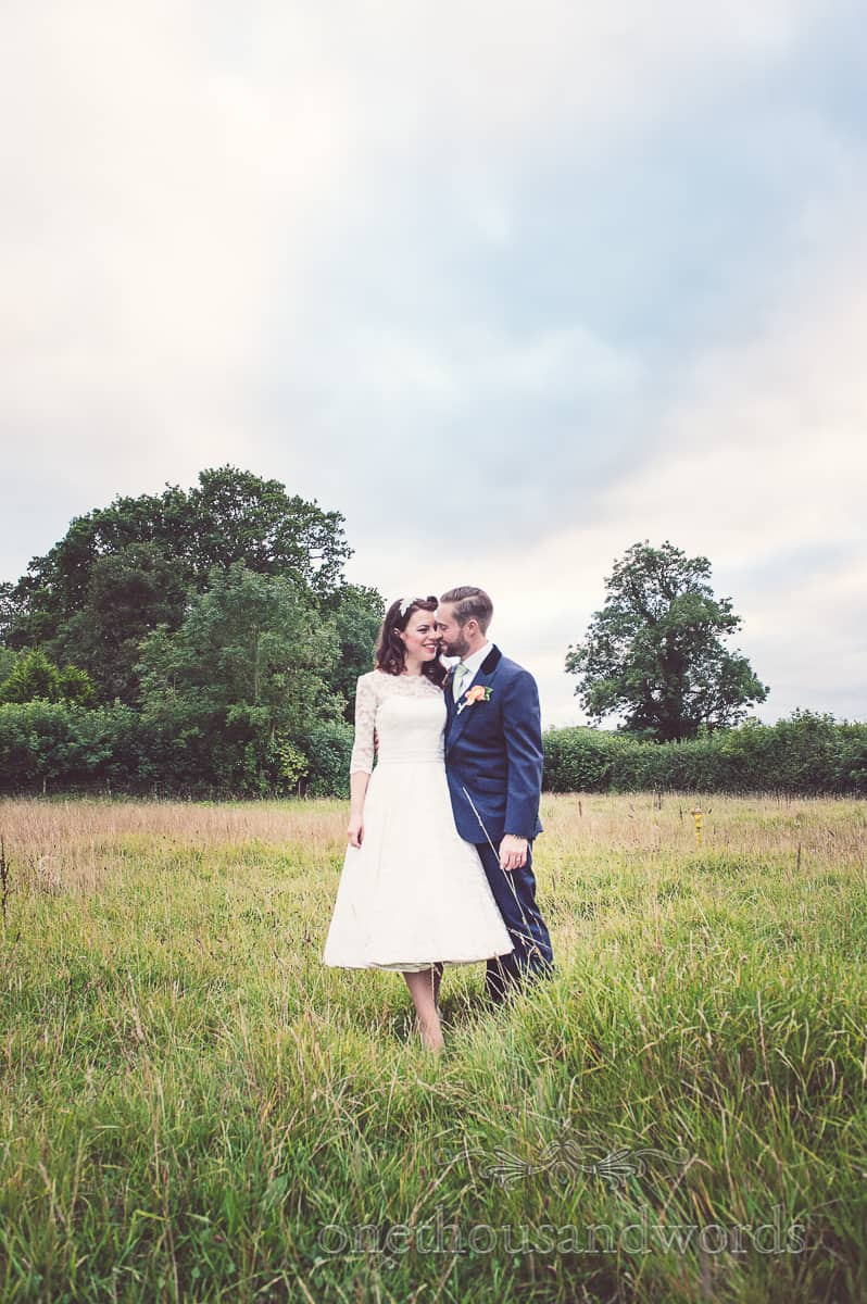 retro vintage rural wedding photographs