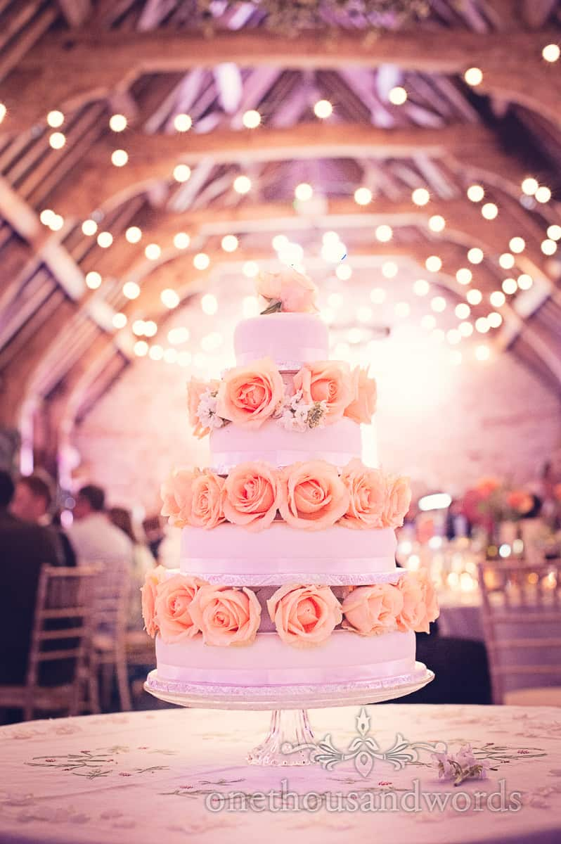 Wedding cake at Barn