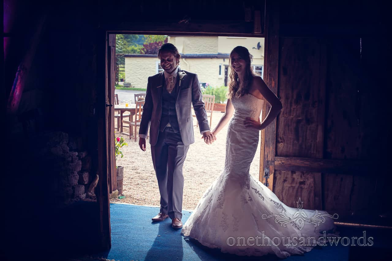 Dorset Barn Wedding Photograph