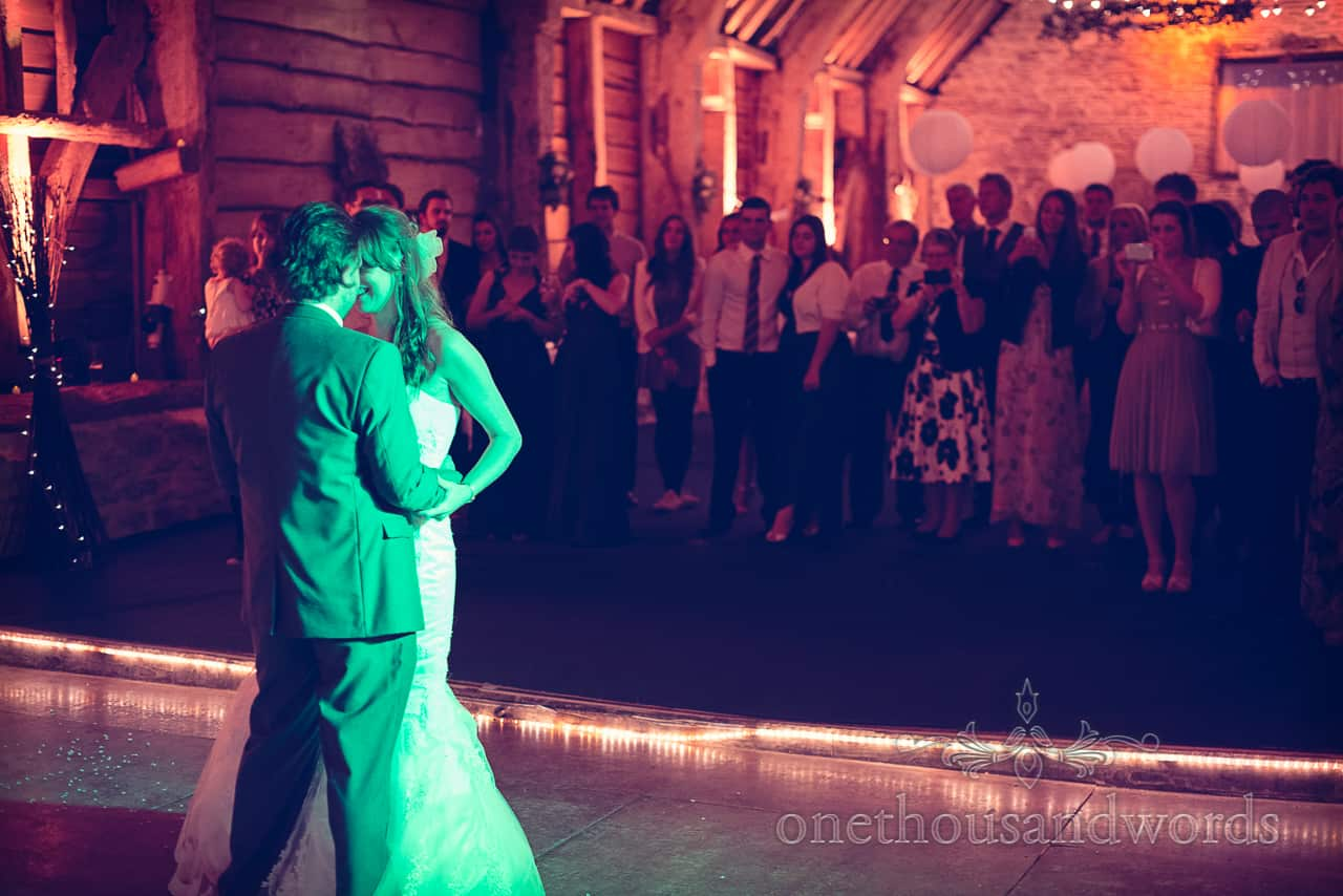Stockbridge farm barn wedding first dance