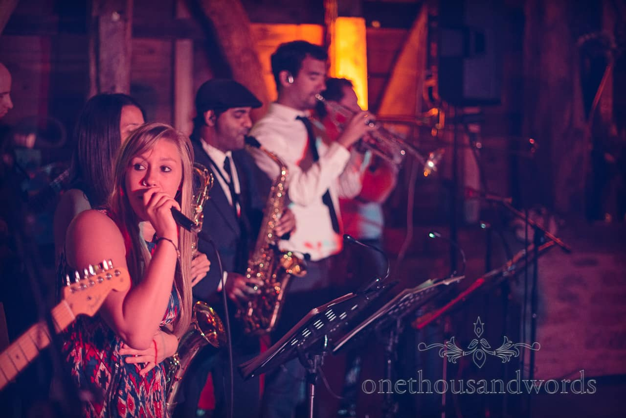 fat cat soul band barn wedding