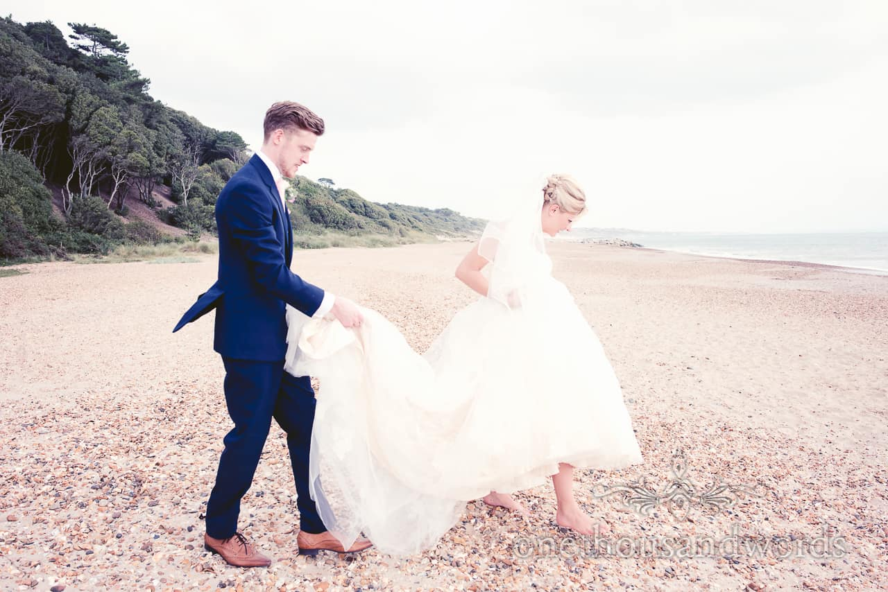 Highcliffe Castle Photographs at a Dorset Wedding Day