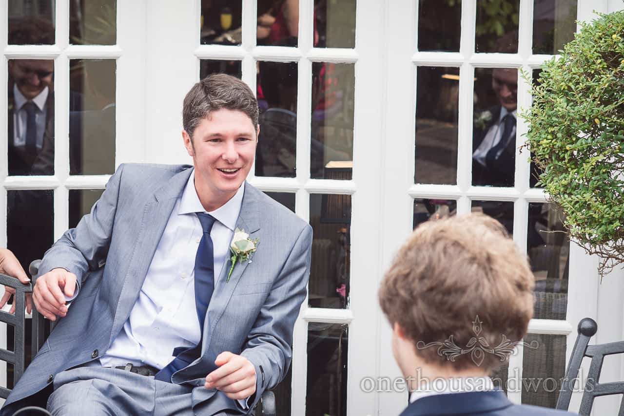 wedding guest photograph at Lord Bute wedding