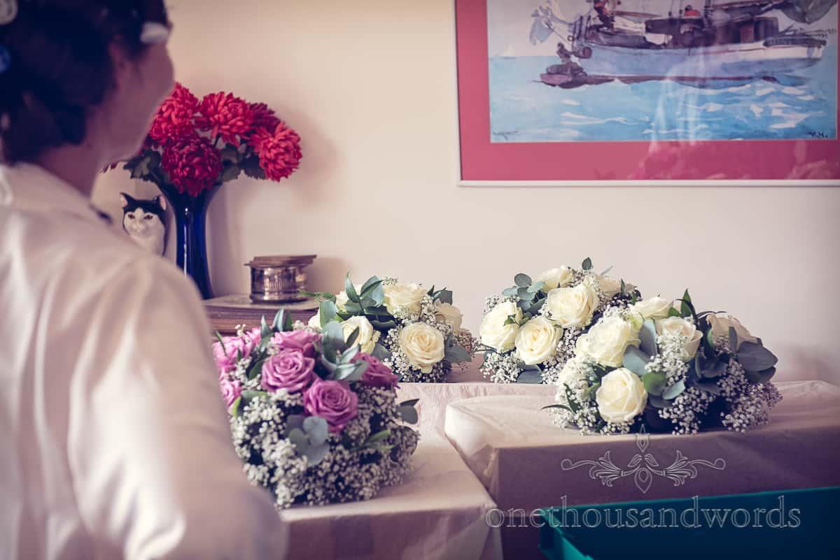 wedding flowers in Sherborne, Dorset