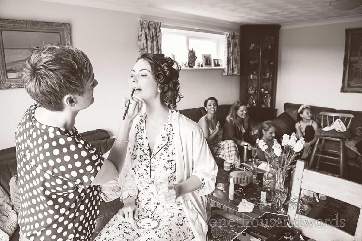 Sherborne Wedding Photographs morning preparations