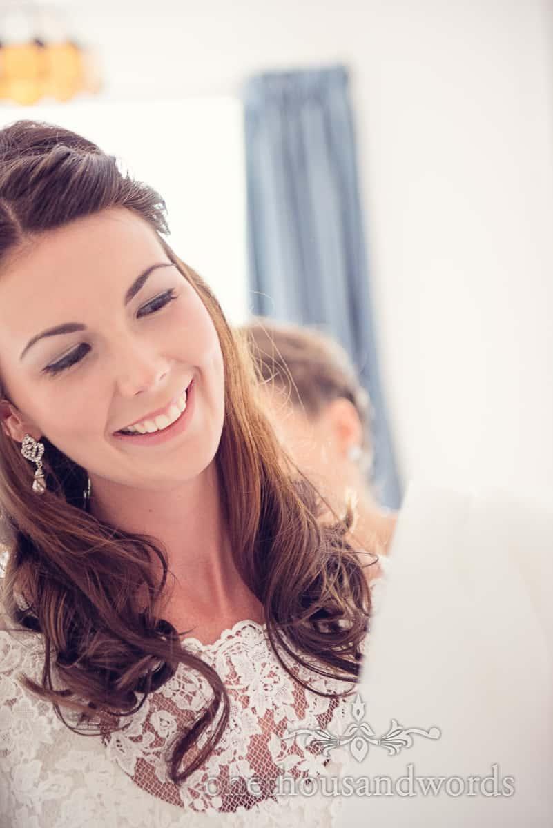 Sherborne Wedding bridal portrait