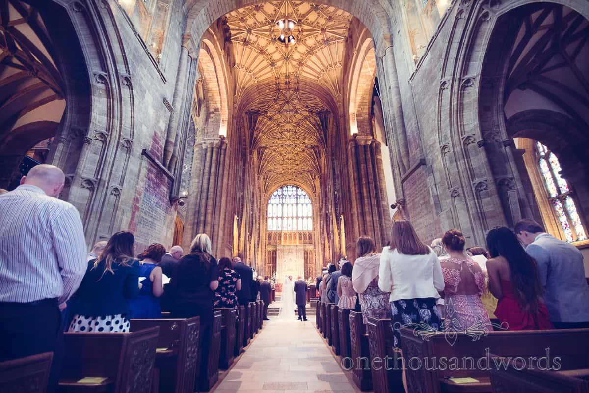 Sherborne Abbey wedding photographers
