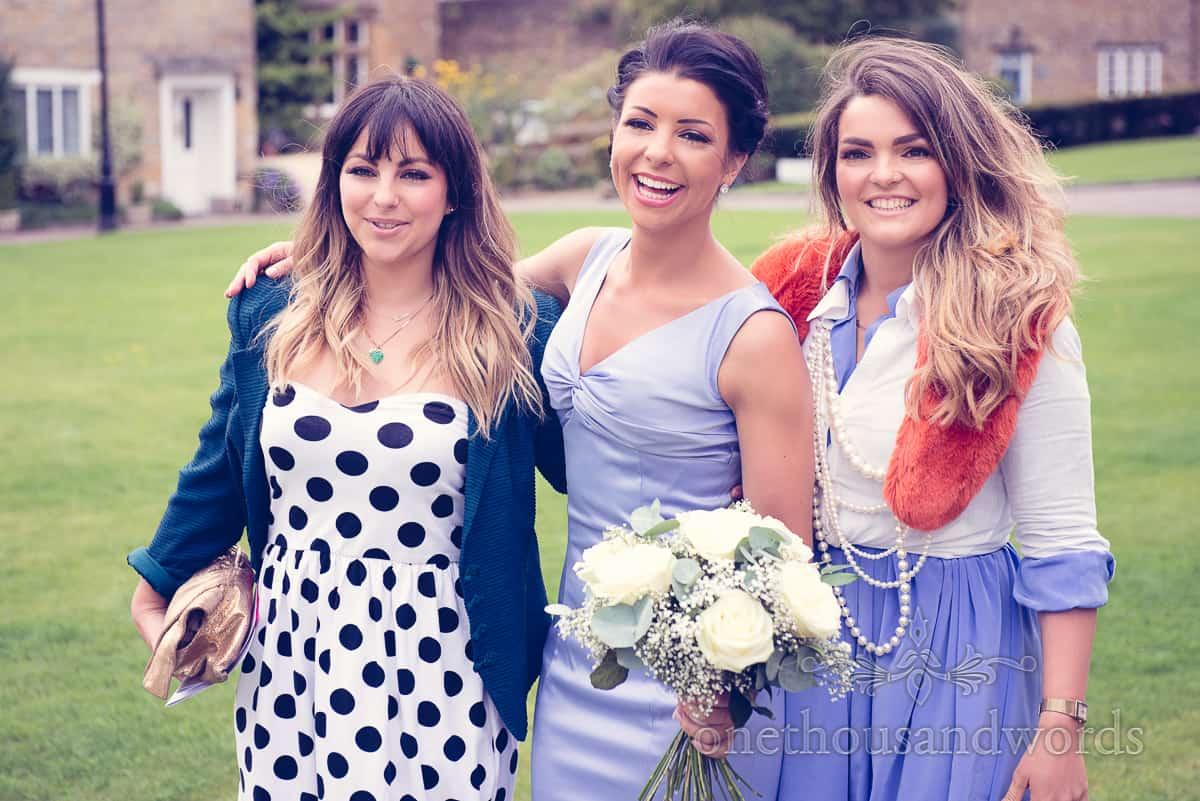 Bridesmaid adn guests at Sherbourne wedding