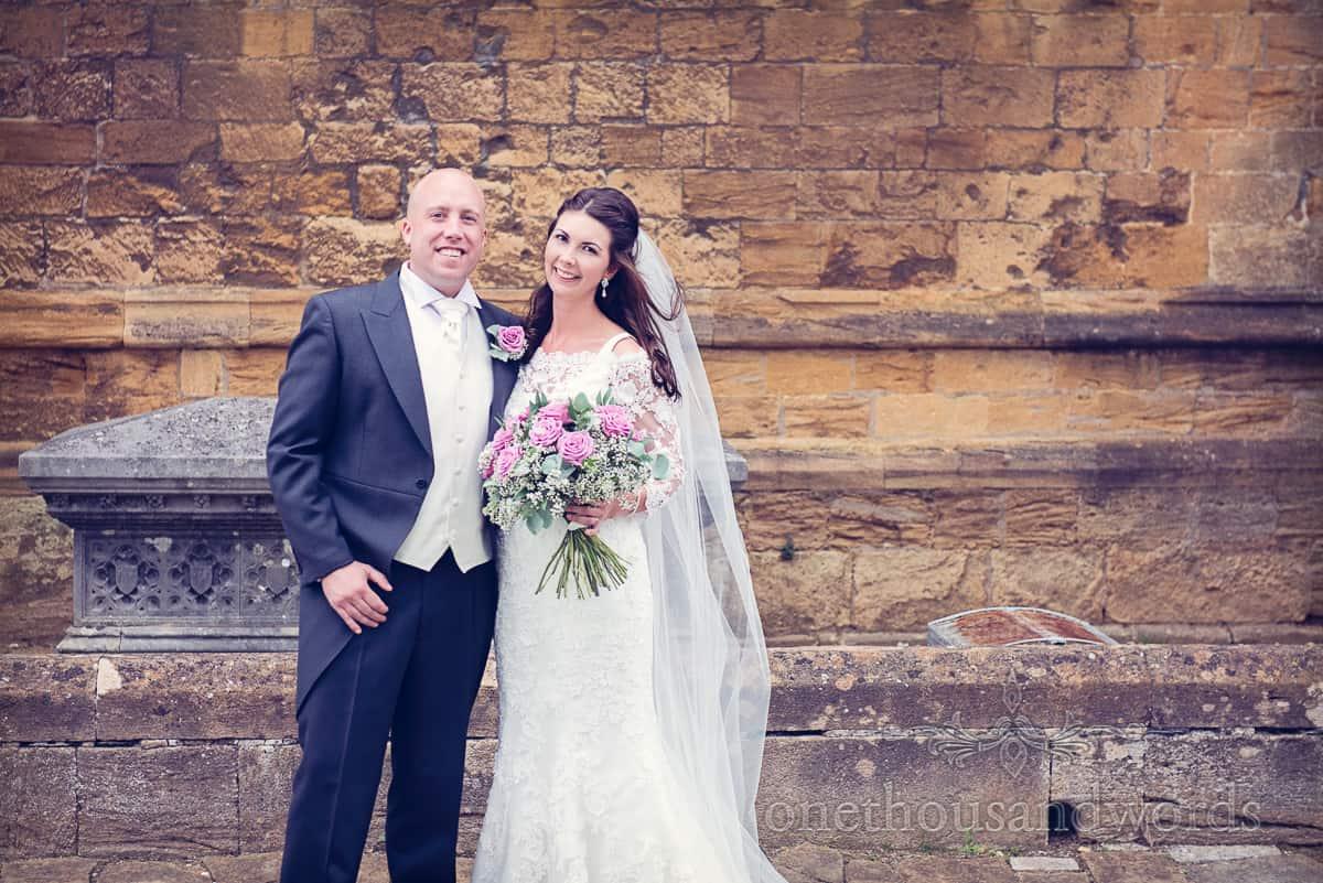 Bride and groom Sherbourne wedding photographs