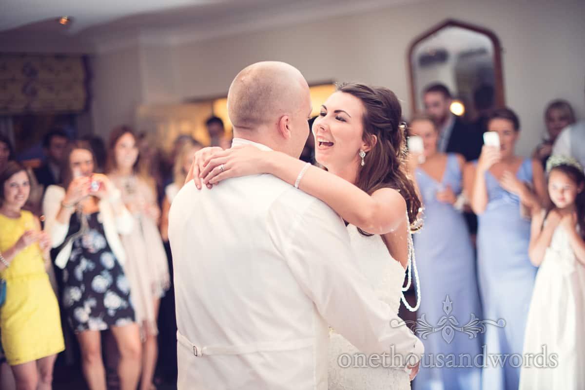 First dance at Sherborne Wedding
