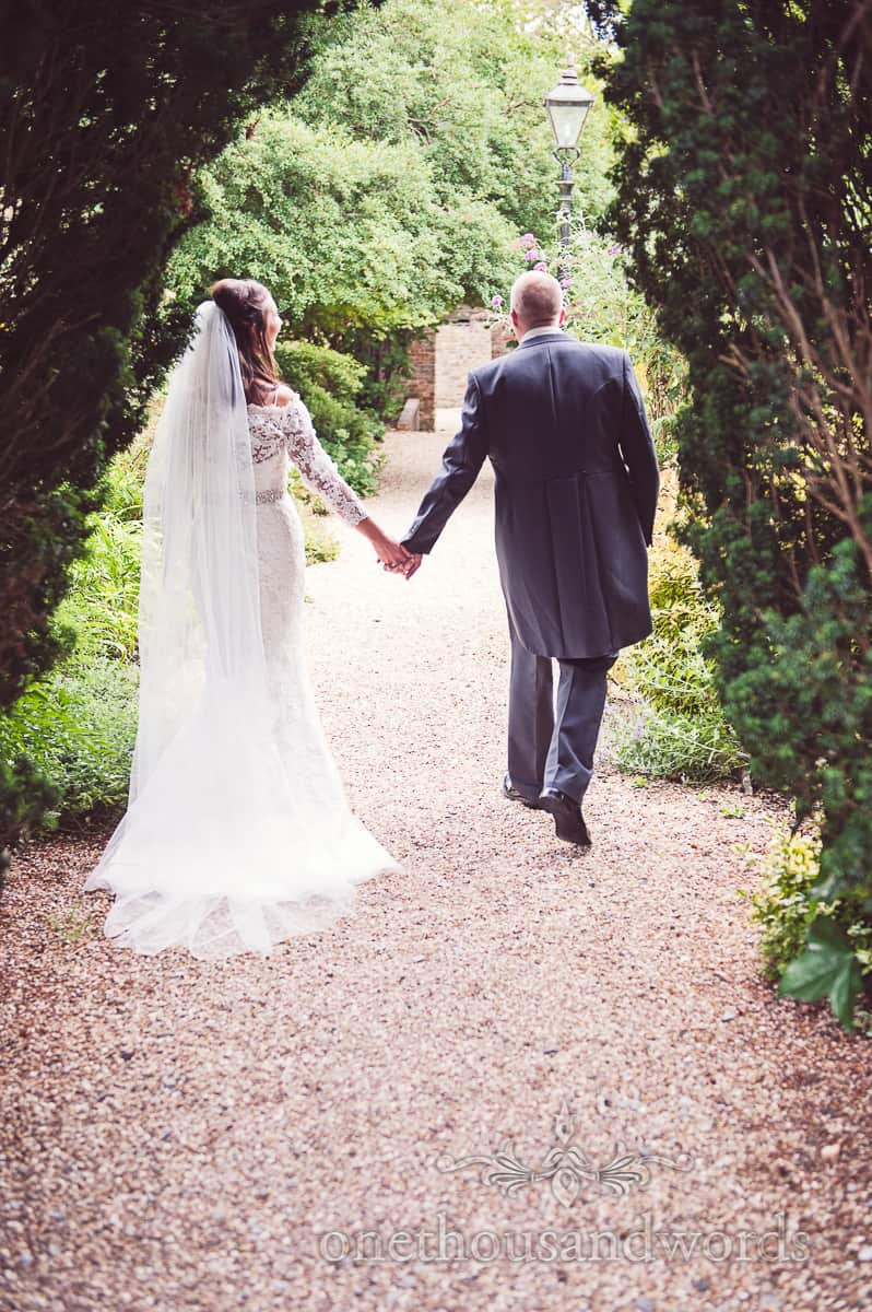 Eastbury Hotel Sherborne wedding couple