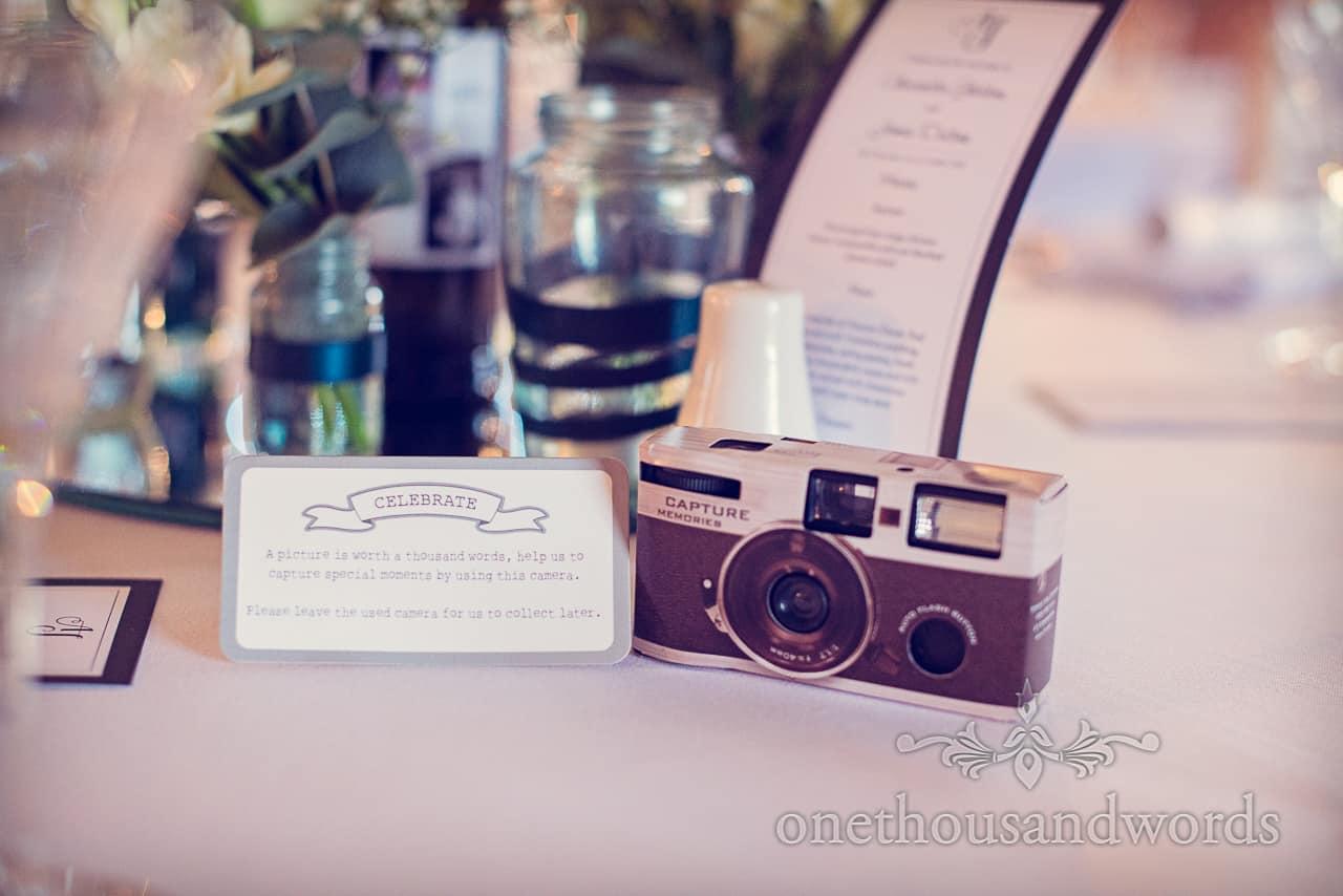 Wedding Camera at sopley mill