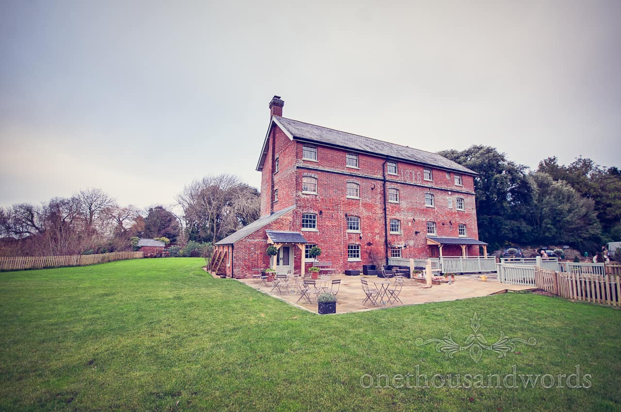 Sopley Mill Wedding venue