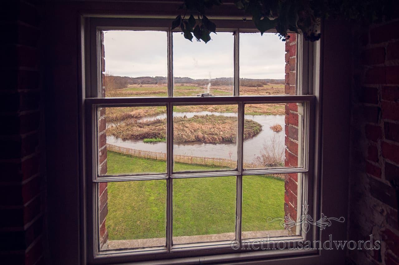 Sopley Mill Wedding venue view