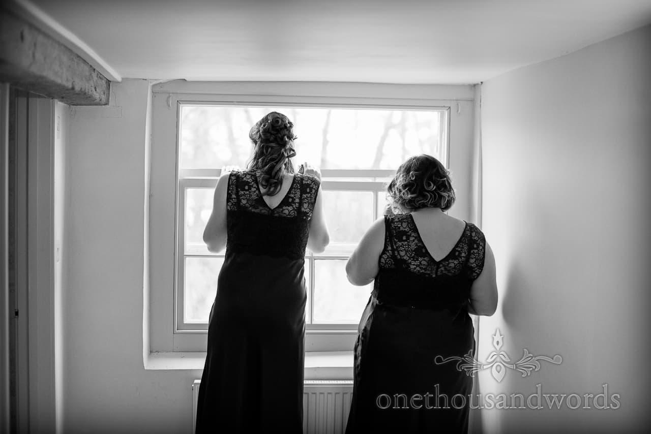 Sopley Mill Wedding bridesmaids