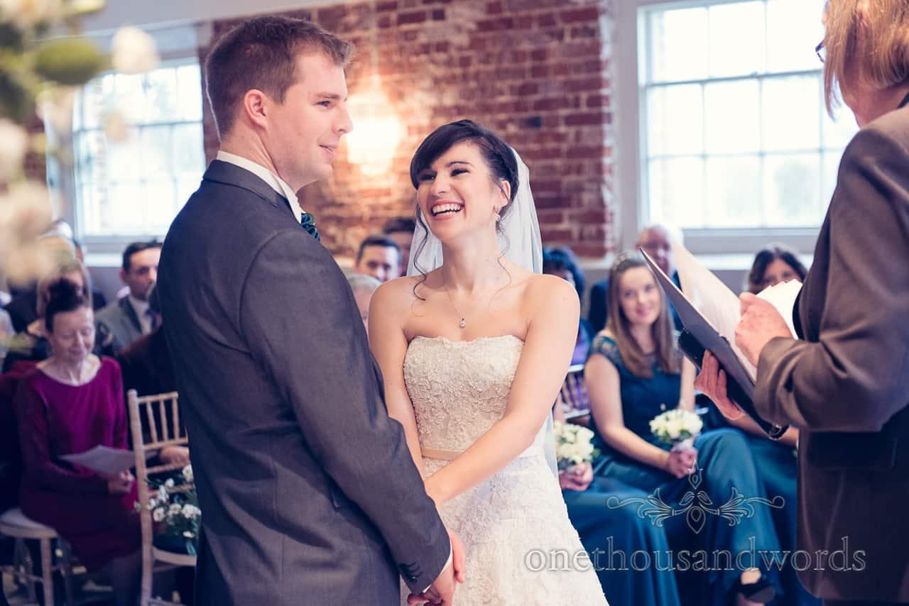 Sopley Mill Wedding vows