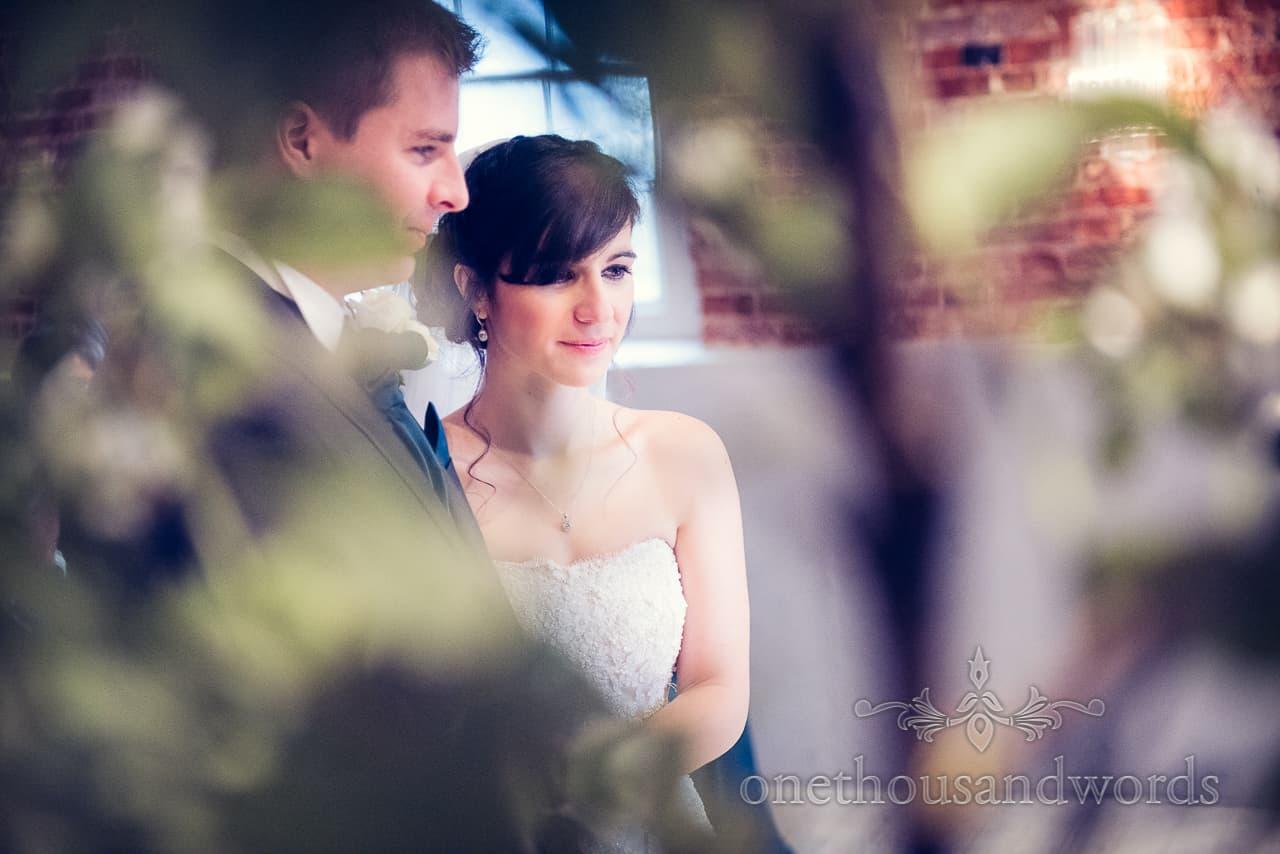 Sopley Mill Wedding bride portrait