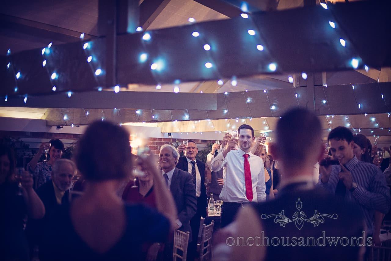 Sopley Mill Wedding speech toast