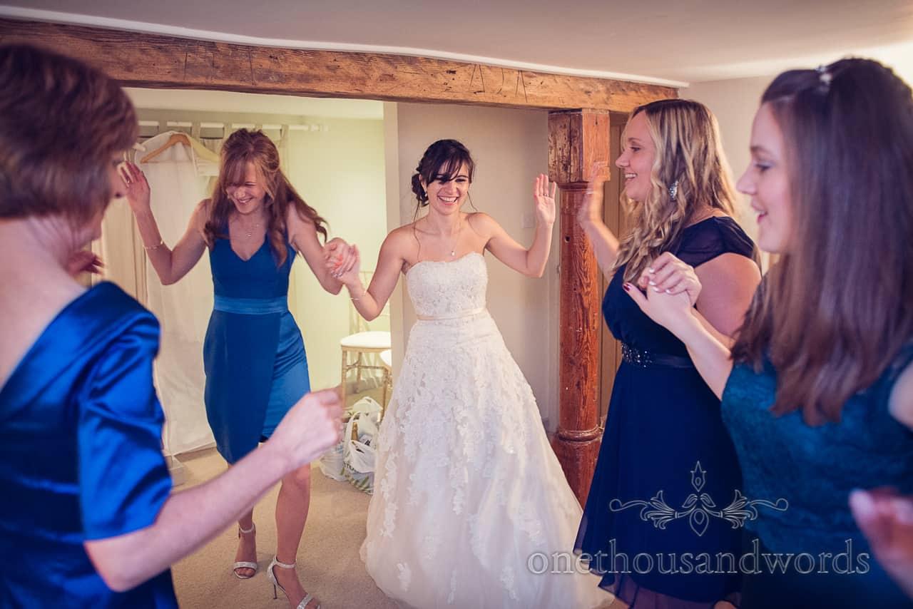 Sopley Mill Wedding salsa dancing