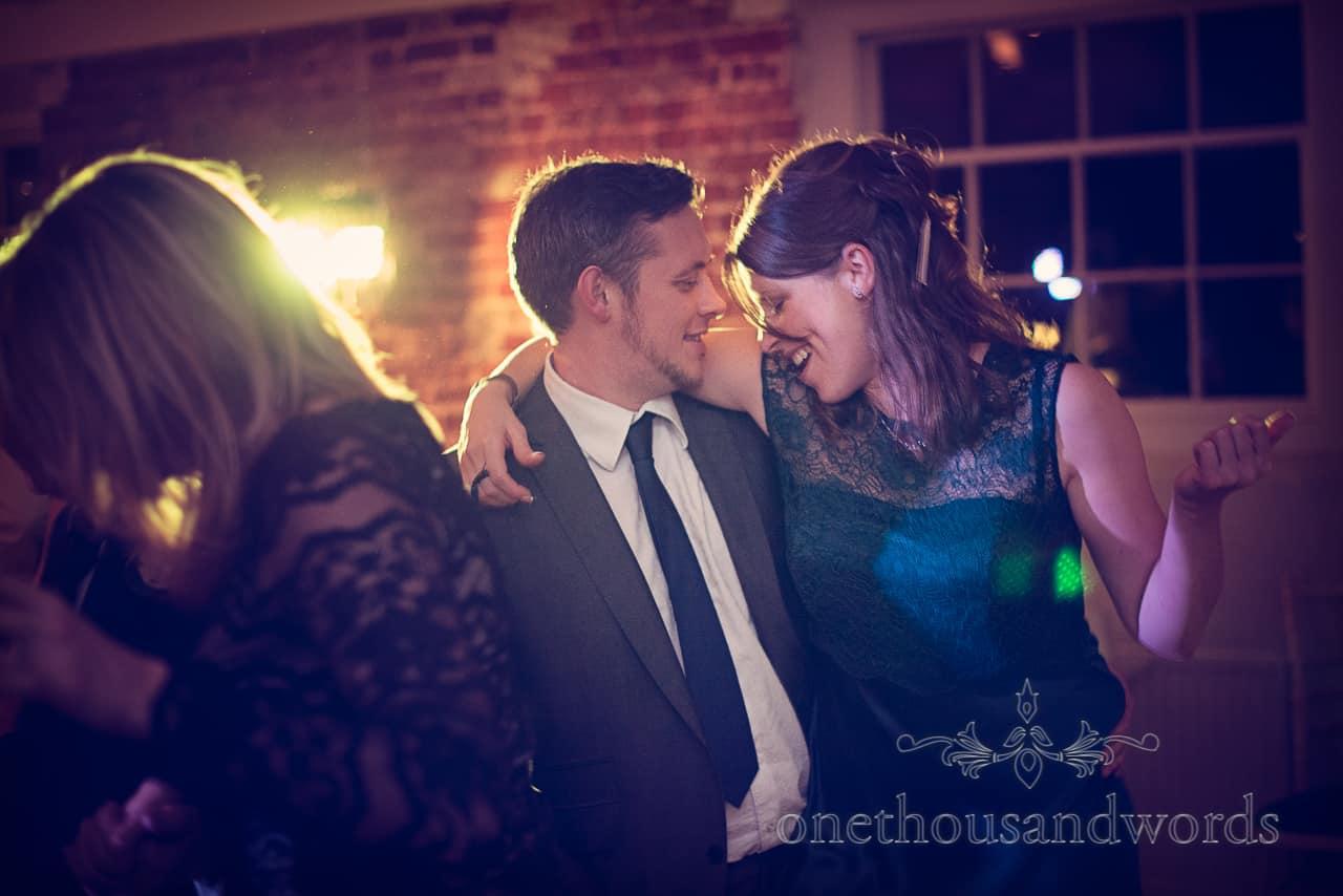 Dancing at Sopley Mill Wedding