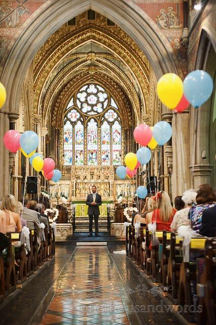 Bournemouth church wedding service
