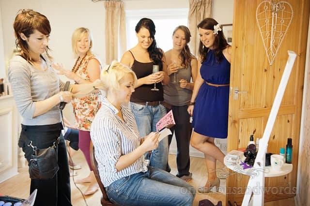 Dorset wedding hairdresser