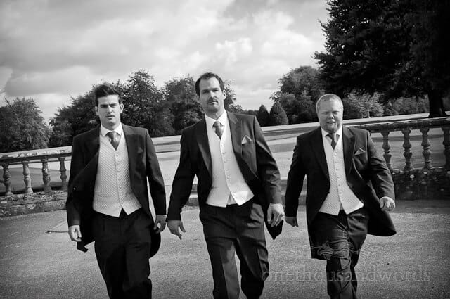 Groomsmen Sherborne Castle Wedding