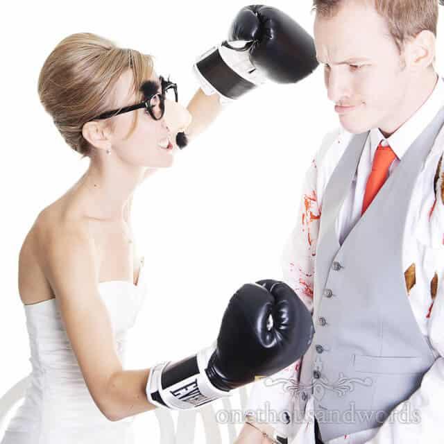 bride in fancy dress in Bournemouth