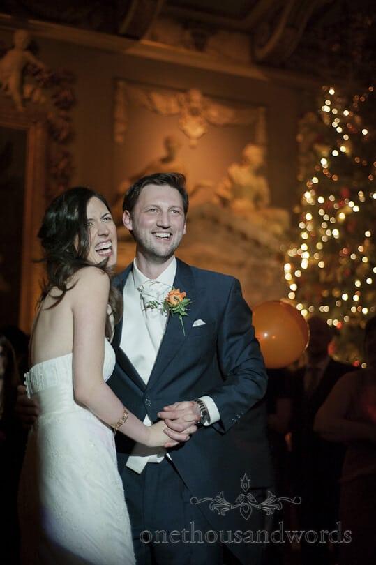 bride groom at Moor Park wedding