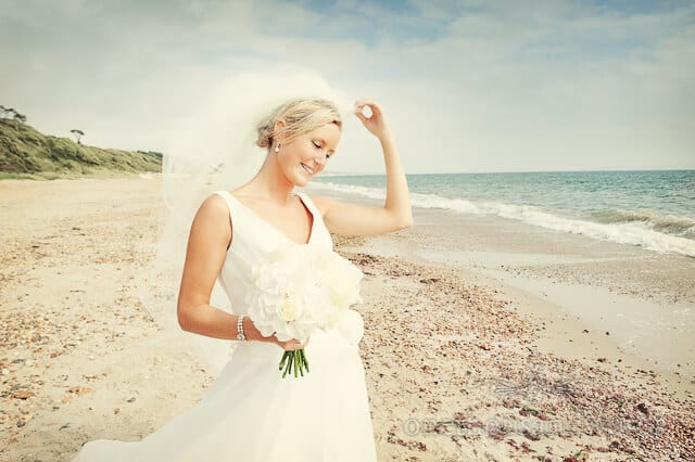 Dorset Beach Wedding Photographs At The Lord Bute
