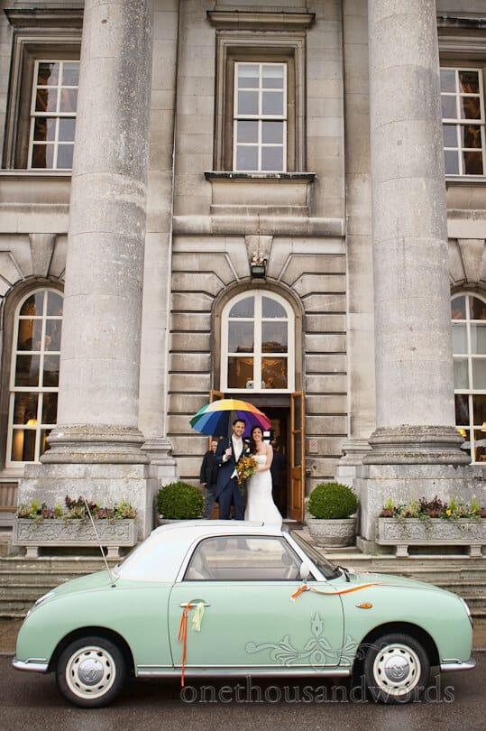 moor park wedding venue car