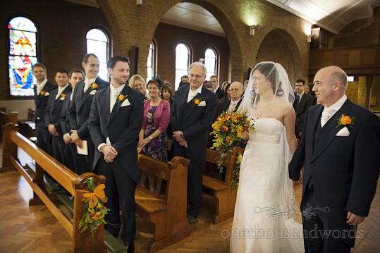 church wedding service Watford