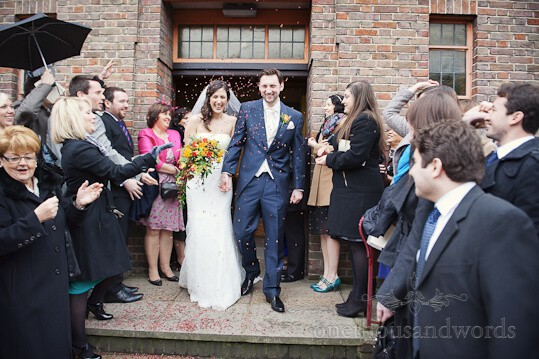 wedding confetti watford