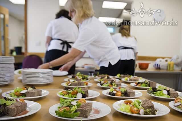 wedding catering Dorset