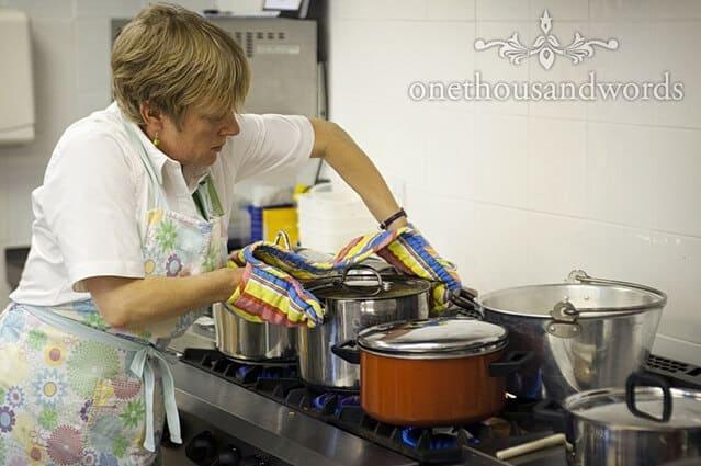 wedding cook Dorset