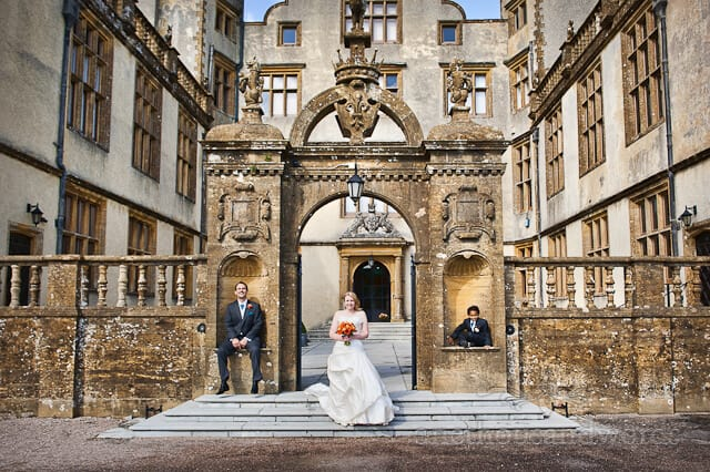 Sherborne Castle wedding photographs