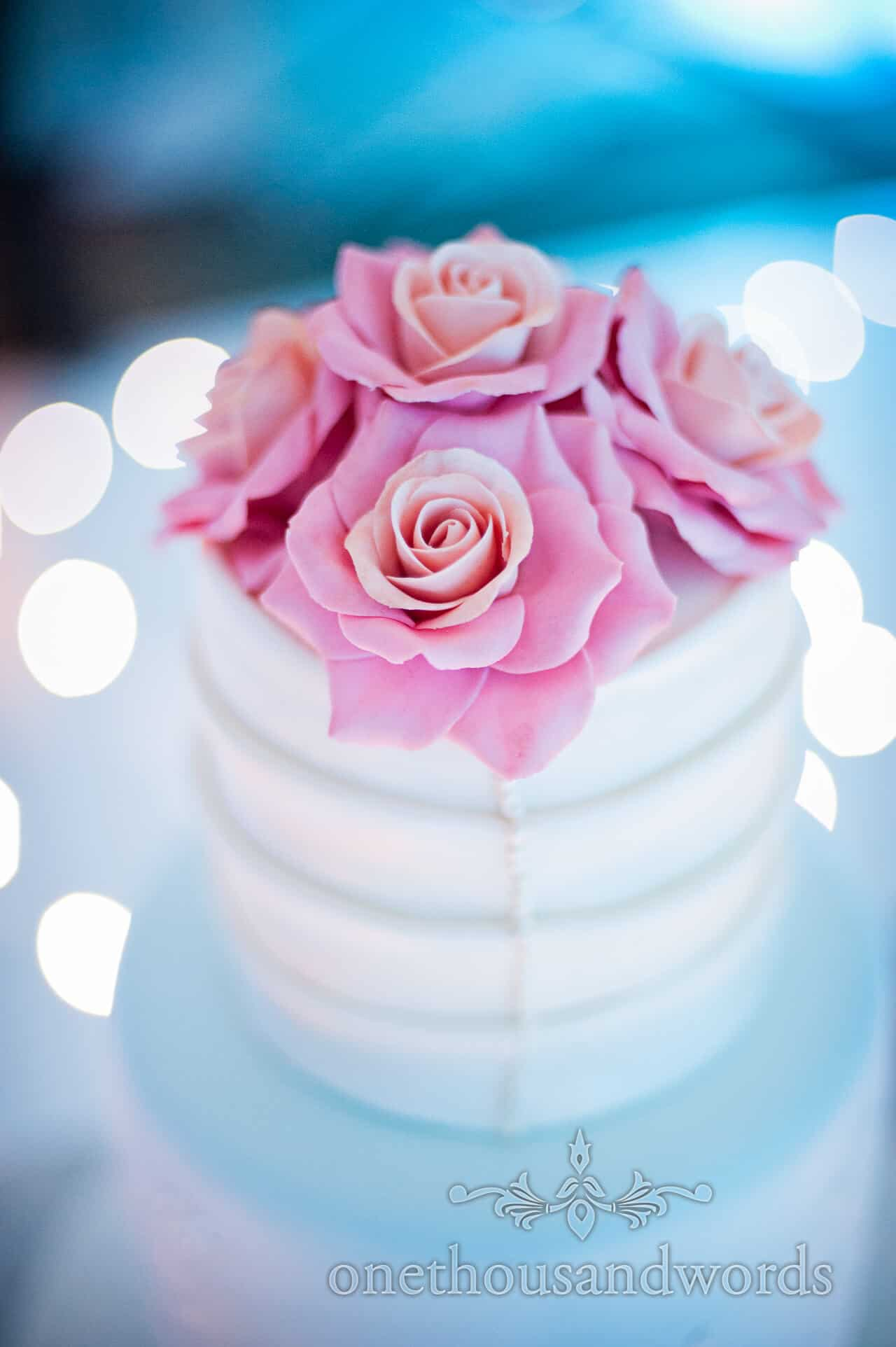 Sugar Sensations wedding cake