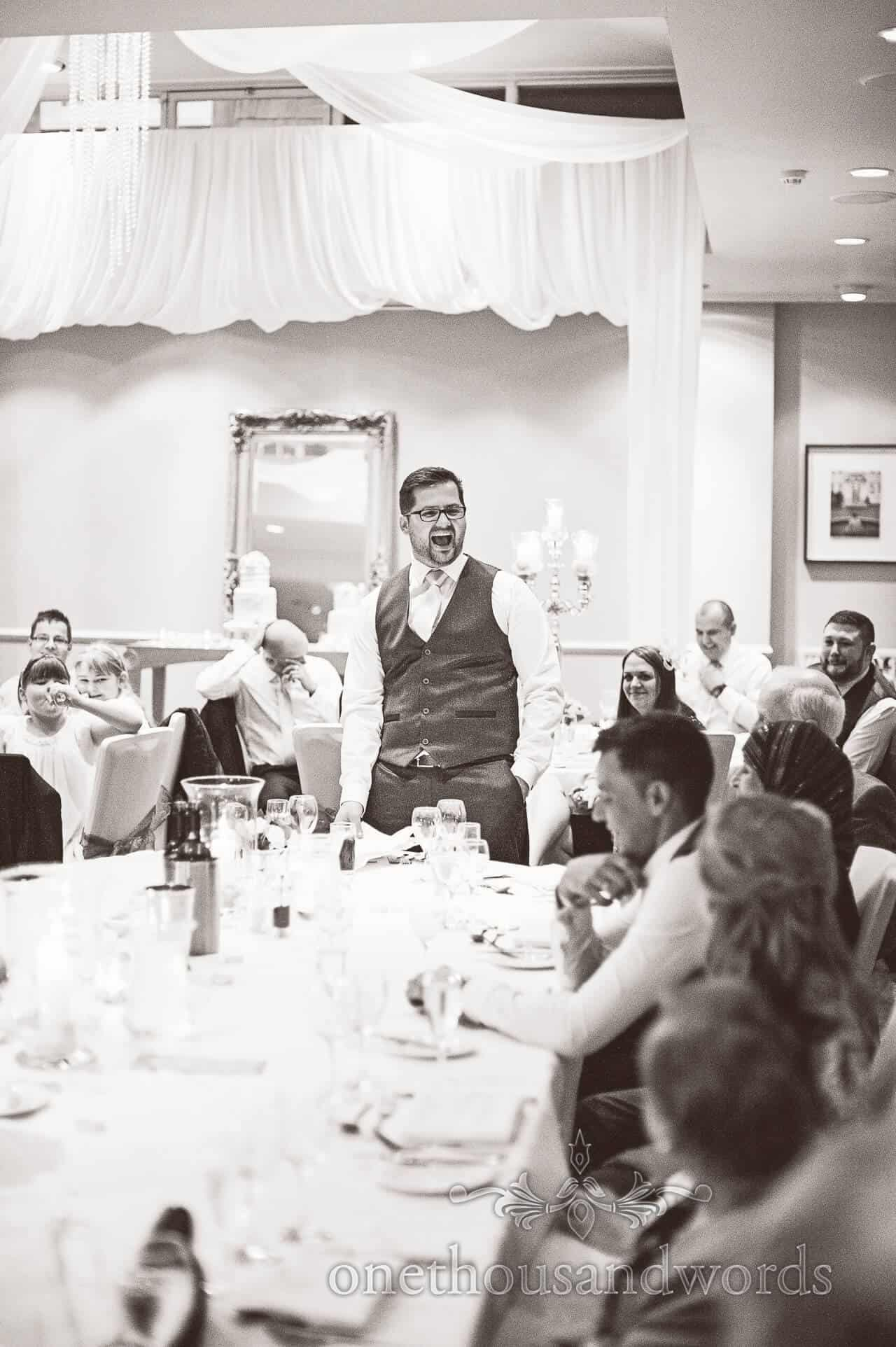 Best Man's speech at Warbrook House Wedding