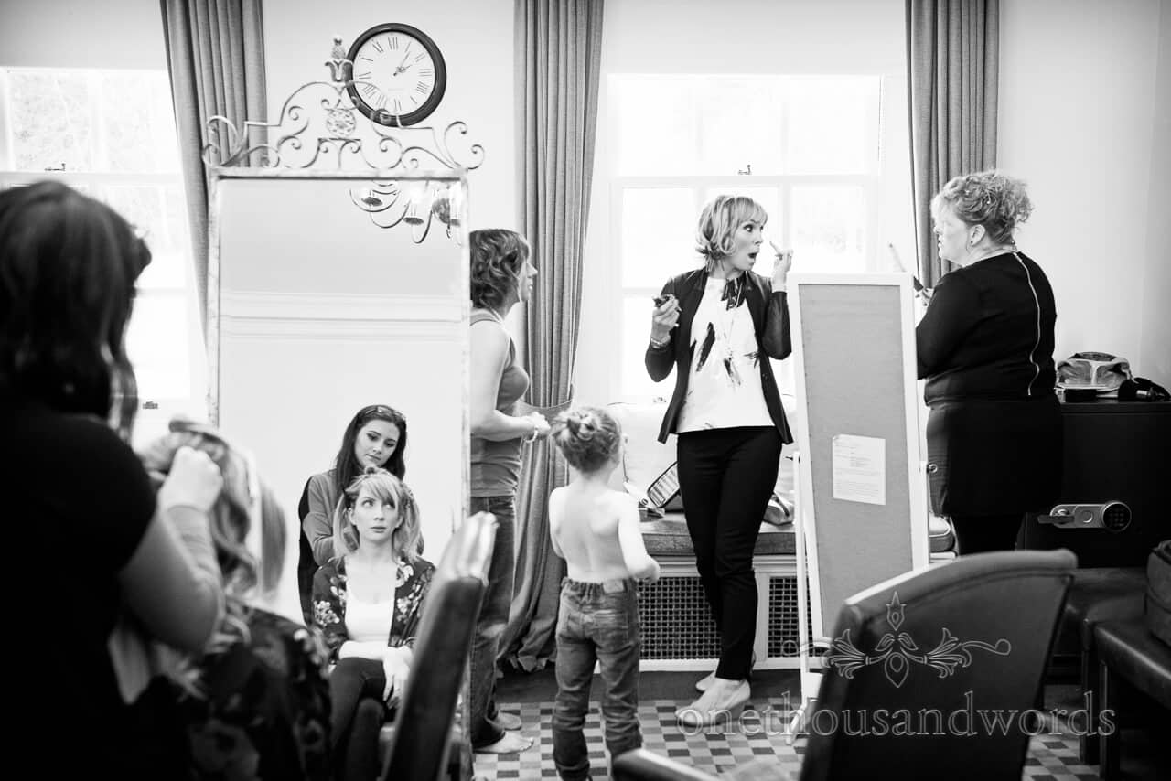 Warbrook House wedding photographer morning preparations