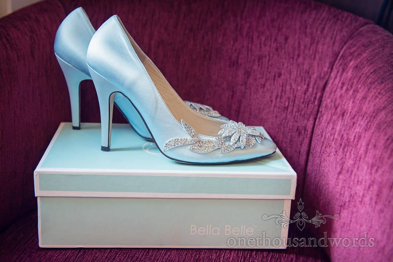 Bella Belle blue Wedding Shoes