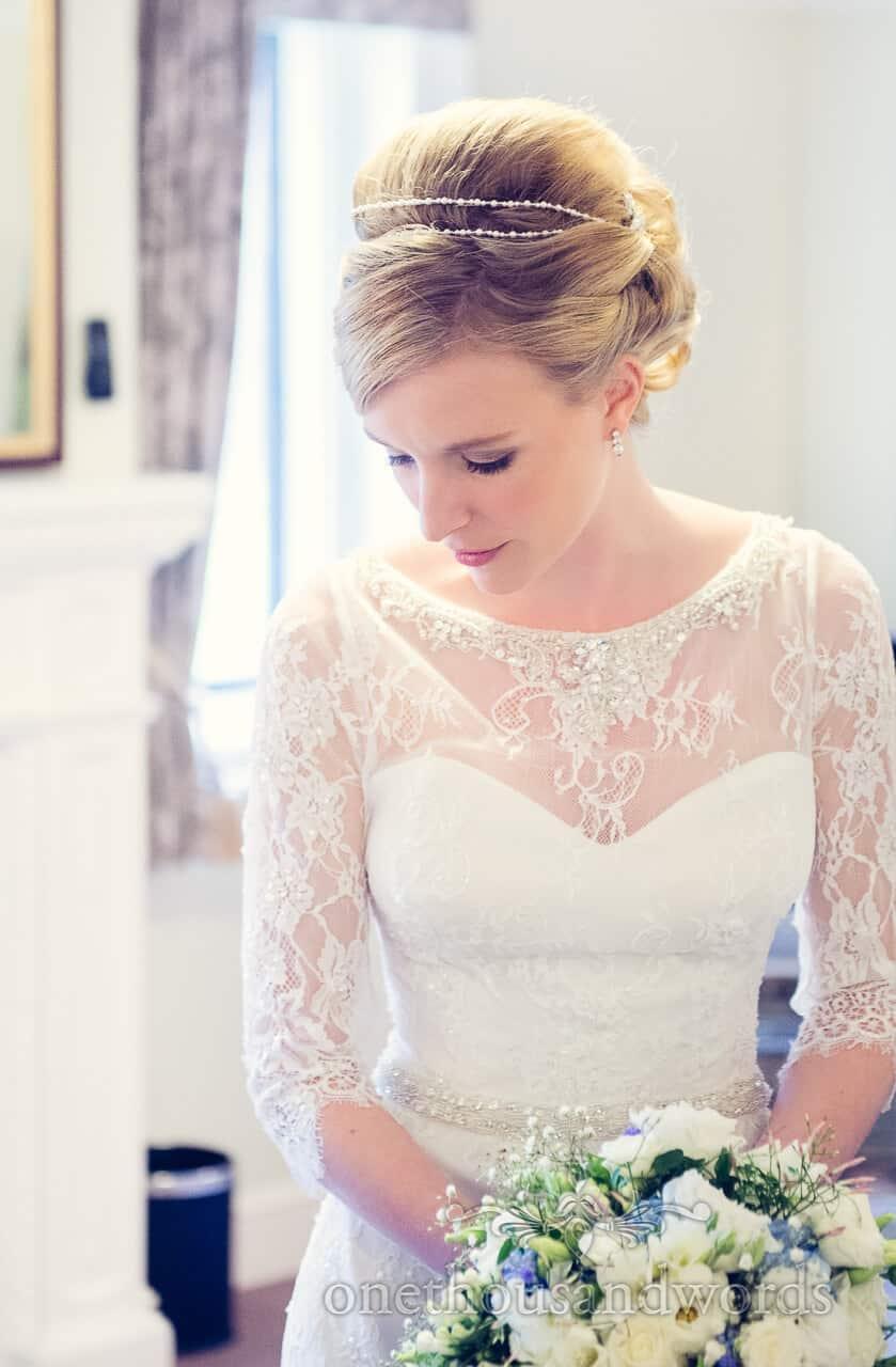 Bride portrait at Rhinefield House