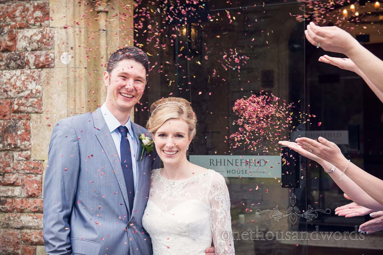 Confetti New Forest Wedding Photographs