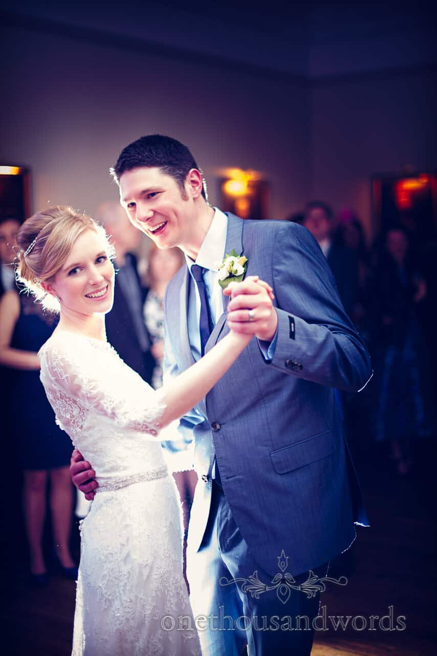 First Dance at Rhinefield House New Forest Wedding Photographs