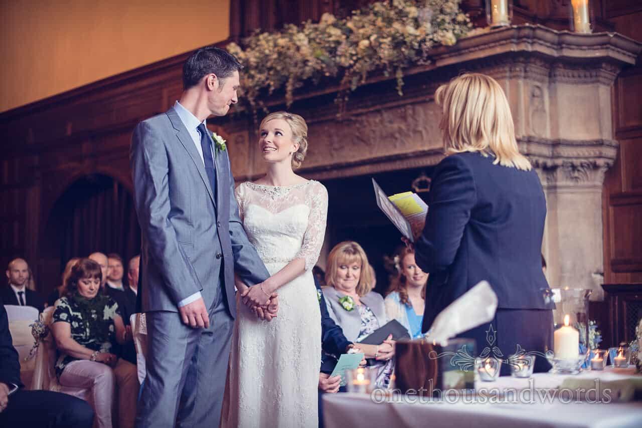 Rhinefield House wedding ceremony