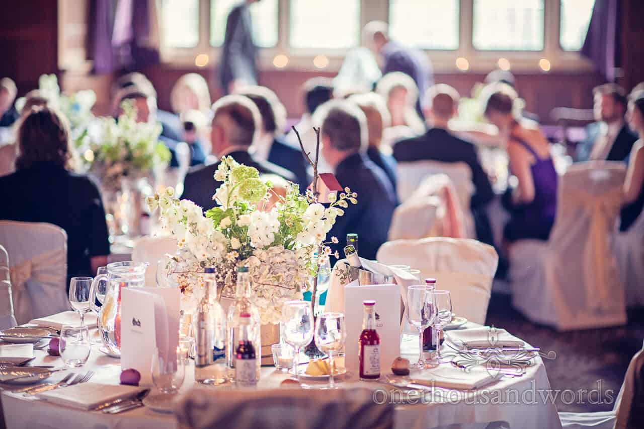 Rhinefield House wedding flowers