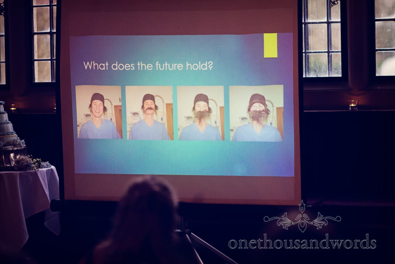 wedding speech slideshow